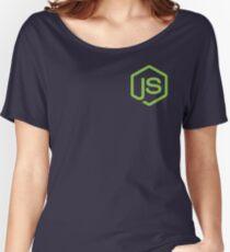 Node.Js Fan Women's Relaxed Fit T-Shirt