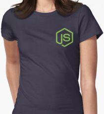 Node.Js Fan Women's Fitted T-Shirt