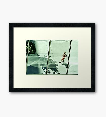 Montreal Reflections IX Framed Print