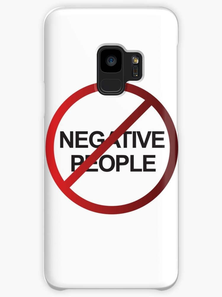 NEGATIVE PEOPLE DO NOT ENTER by thedailysoe