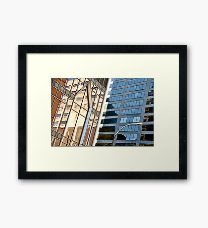 Montreal Reflections XIV Framed Print