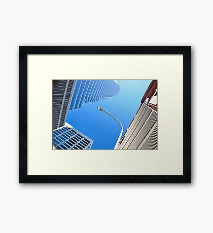 Above Union St. Framed Print