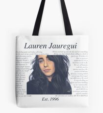 Bolsa de tela Lauren Jauregui Pastel Sky No Background