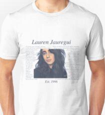 Camiseta unisex Lauren Jauregui Pastel Sky No Background