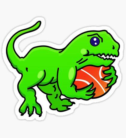 Baketball Dino VRS2 Sticker