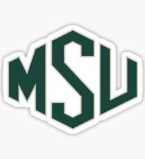 MSU Shield Sticker