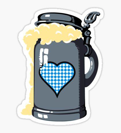 Oktoberfest Humpen Beer VRS2 Sticker