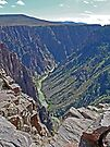 Black Canyon of the Gunnison, Colorado, USA by Margaret  Hyde