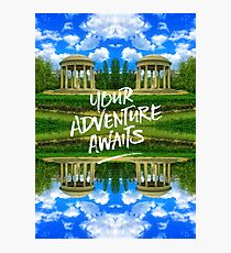 Your Adventure Awaits Temple of Love Versailles Paris Photographic Print
