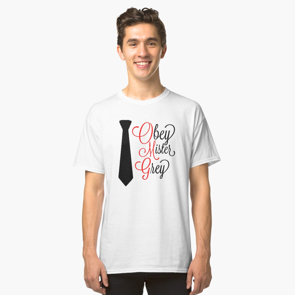50 SHADES OF GREY - OMG [FANCY] Classic T-Shirt Front