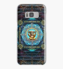 Ganesha - Removes obstacles - Om Gam Ganapataye Namah Samsung Galaxy Case/Skin