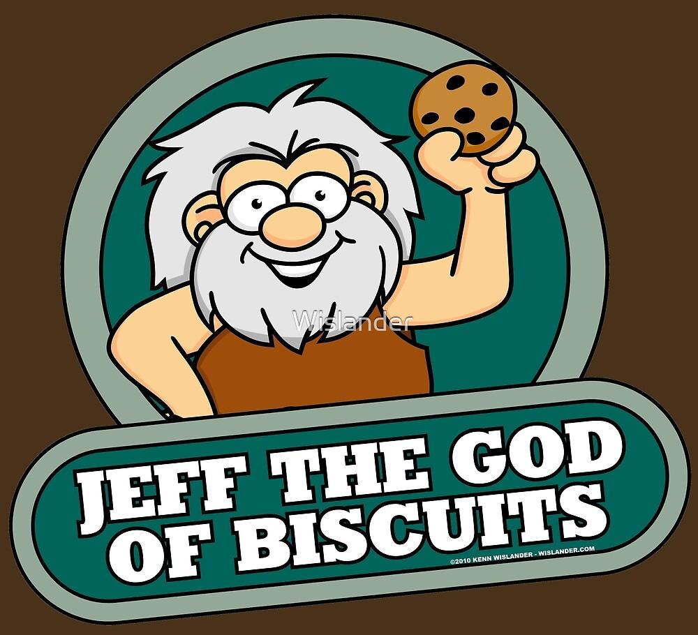 « Jeff le dieu des biscuits » par Wislander