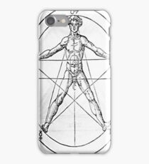 Pentagram and Human body iPhone Case/Skin