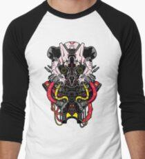 Cyber Panda Men's Baseball ¾ T-Shirt