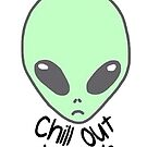 Chill out alien by sailorlolita