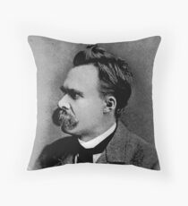 Nietzche Frederick Throw Pillow