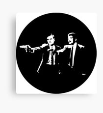 Cosmos Pulp Fiction (Round) Canvas Print