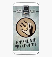 Funda/vinilo para Samsung Galaxy Bioshock Plasmid Poster Electro Bolt