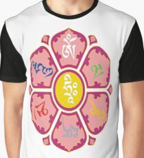"""om mani padme huṃ hriḥ"" Graphic T-Shirt"