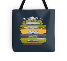Eastern European Trains Tote Bag