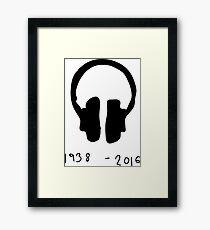 Terry Wogan: 1938 - 2016 Framed Print