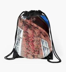 Old Facade Drawstring Bag
