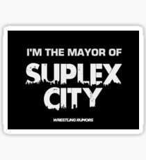 Major Of Suplex City Sticker