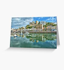 Torquay Harbour Greeting Card