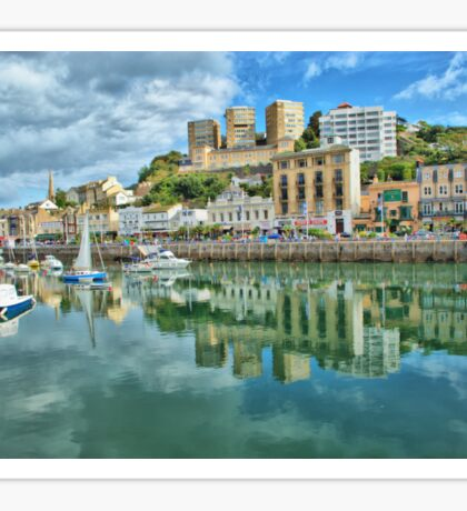 Torquay Harbour Sticker