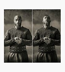 Vikings - Ragnar Photographic Print