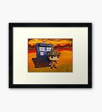 4th Doctor On Gallifrey Framed Print
