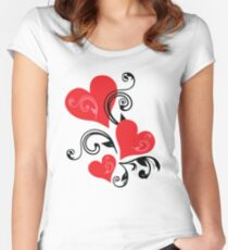 Special Design For Valentine's Day Women's Fitted Scoop T-Shirt