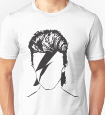 David as Ziggy - vacant expression Unisex T-Shirt