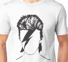 David as Ziggy - vacant expression Unisex T-Shirt
