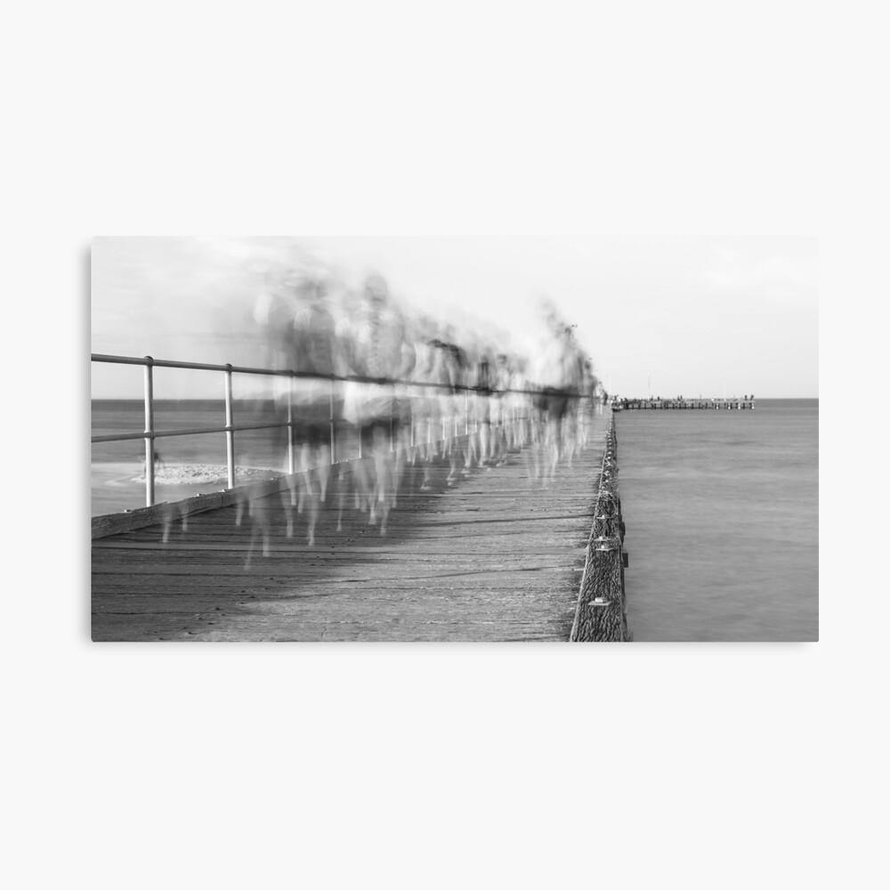 Rye Pier Canvas Print
