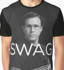 Will Ferrell Swag Graphic T-Shirt