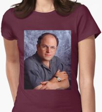 George Costanza Bae Womens Fitted T-Shirt