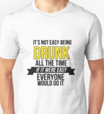 GAME OF THRONES - DRUNK T-Shirt