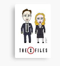 The X - Files Canvas Print