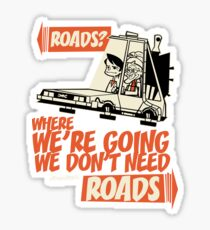 Roads Sticker