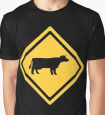 Cattle Sign Graphic T-Shirt
