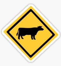 Cattle Sign Sticker