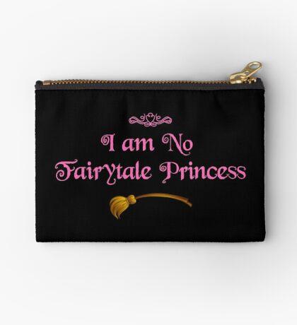 Ich bin keine Märchenprinzessin - Dark Pink Täschchen