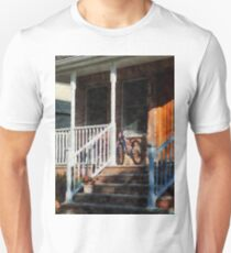 Bicycle on Porch T-Shirt