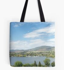 Klamath Falls In Summertime Tote Bag