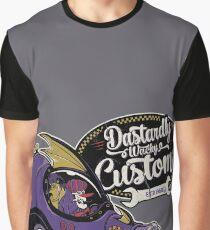 Dastardly Wacky Customs Graphic T-Shirt