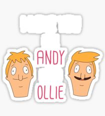 I love you like Andy loves Ollie Sticker