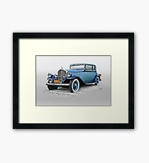 1932 Pierce Arrow 54 Club Brougham Framed Print