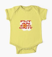 PUT AN EGG ON IT One Piece - Short Sleeve