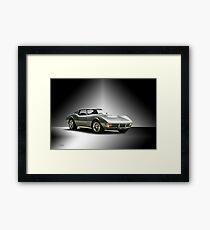 1971 Corvette Stingray 427 ZR1 Framed Print